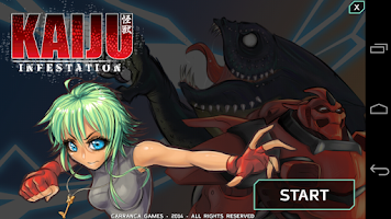 Screenshot of Kaiju:Infestation