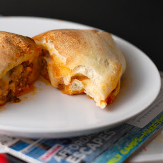 Sausage and Mozzarella Calzone