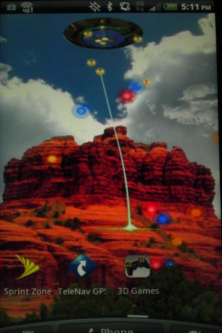 Sedona UFO Game Live Wallpaper