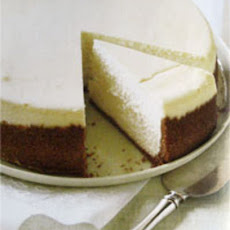 Creamy Cream Cheese Cheesecake For Passover--Or Not