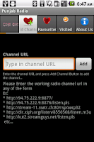 Screenshot of Punjab Radio
