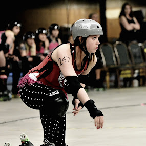 roller Derby 1 by Cody Hoagland - Sports & Fitness Other Sports ( roler derby )