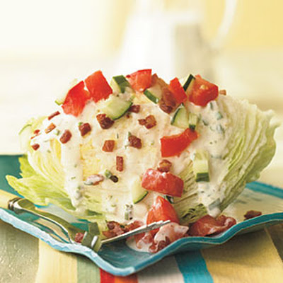 Iceberg Wedge with Pancetta