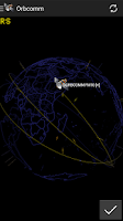 Screenshot of 3D Satellite Tracker