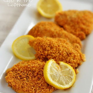 Crispy Baked Lemon Chicken