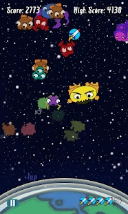 Space Monsters Attack - screenshot