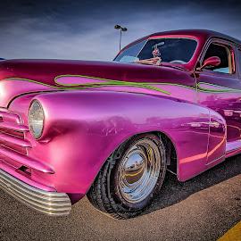 Purple Haze by Ron Meyers - Transportation Automobiles