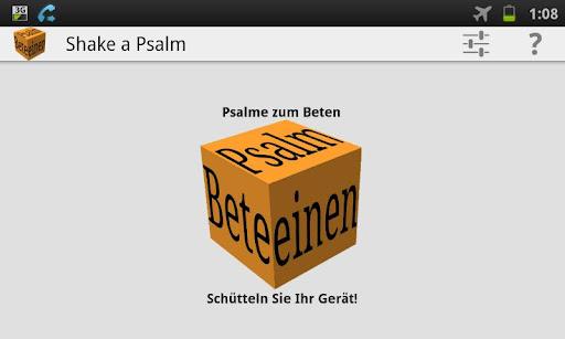 Shake a Psalm