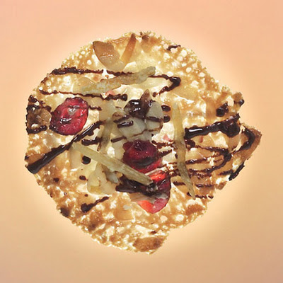 Lemon Cranberry Florentines