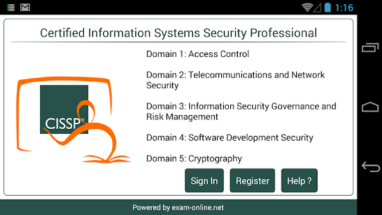 CISSP Exam Online - screenshot