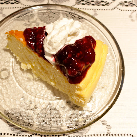 Crustless Cheesecake