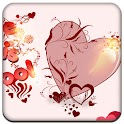 Beautiful heart Full Theme icon