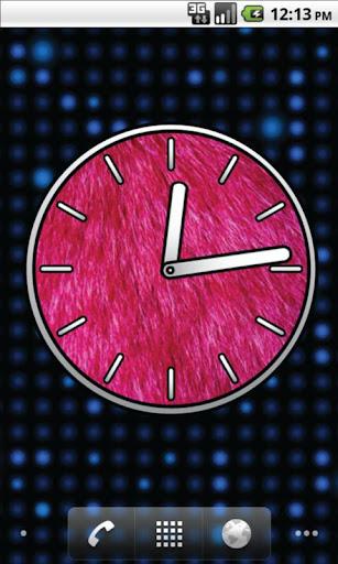 【免費個人化App】粉紅色的大鐘錶 - 免費-APP點子