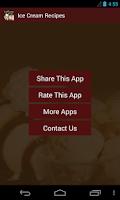 Screenshot of Ice Cream Recipes