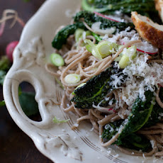 Garlic Soba Noodles