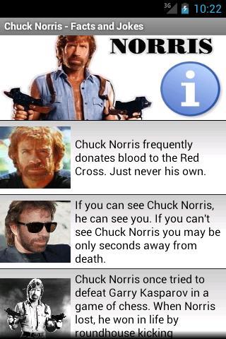 Chuck Norris - Facts Jokes