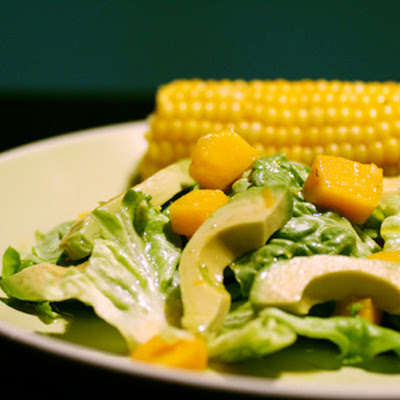 Mango & Avocado Salad with Citrus Dressing