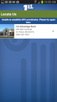 Screenshot of 1st Advantage Bank