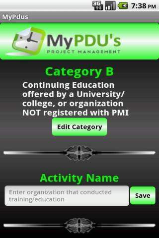 My PDU's
