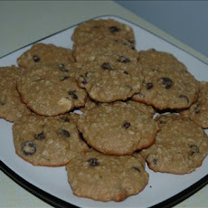Whole Wheat Oatmeal and Chocolate Chip Cookies