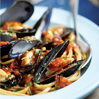 Italian Mussels and Pasta