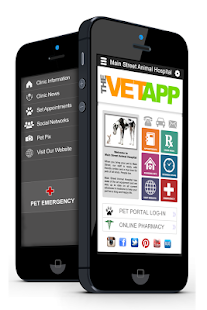 THE VET APP - screenshot
