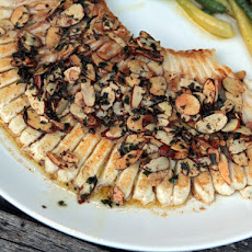 Bobby Flay's Skate Amandine with Preserved Lemon