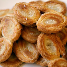 Fresh Olive Oil and Sea Salt Palmiers