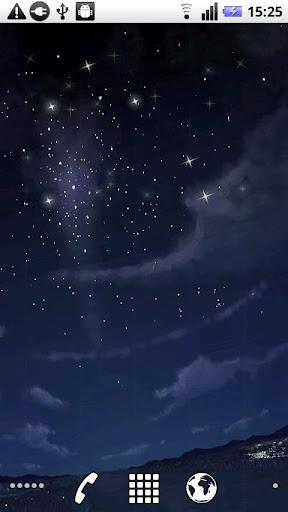 星空動態壁紙