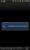 Screenshot of Navigate by Text Msg: SMS2NAV