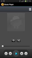 Screenshot of TIM MusicPlayer