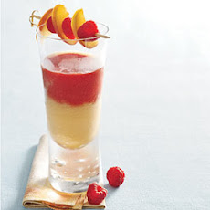 Peach-Raspberry Tequila Sunrise