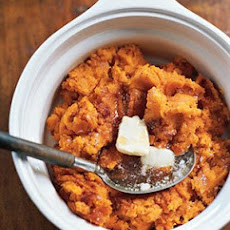 Sweet Potato Puree With Maple