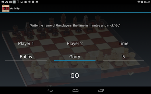 Chess Clock Pro - game timer - screenshot