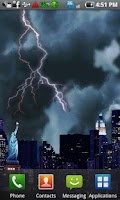 Screenshot of Lightning Live Wallpaper Free