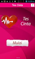 Screenshot of Tes Cinta Valentine