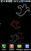 Screenshot of Ghosts Live Wallpaper