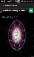 Screenshot of OM Meditation