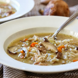 Chicken Shiitake and Wild Rice Soup