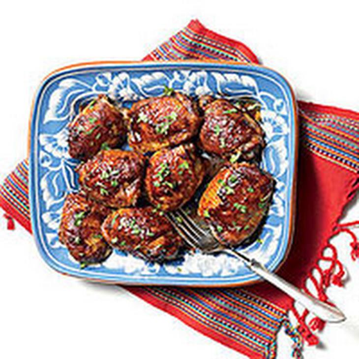 Tamarind-Glazed Chicken Thighs Recipe | Yummly