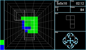 Screenshot of Block 3D