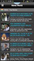 Screenshot of News World