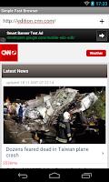 Screenshot of Bonibon Web Browser