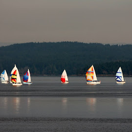 Come sail away  by Tina Cornet - Landscapes Waterscapes