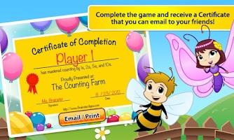 Screenshot of Mazealicious Counting Farm