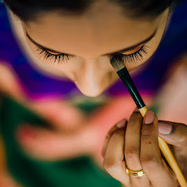 The Process by Mike Tan - Wedding Details ( make up, wedding, penang, indian, wedding photographer, bride )