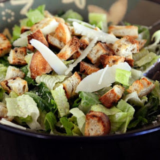 Delicious Caesar Salad {With Homemade Dressing}