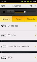 Screenshot of Cadena SER para Android