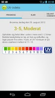 Screenshot of UV Index