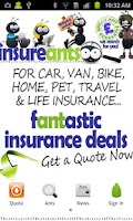 Screenshot of InsureAnts - Car Insurance